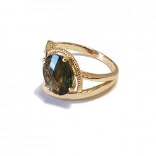 Prsten zlatý,  vltavín