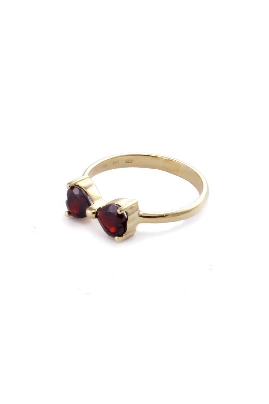 Золотое кольцо, гранат