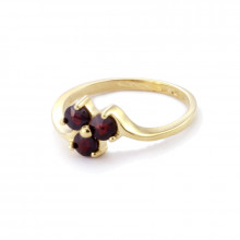 Золотое кольцо , гранат
