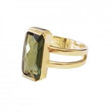 Prsten, zlato, vltavín