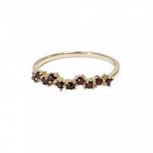 Zlatý prsten, granát